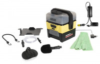 "Kärcher low-pressure cleaner OC 3 including accessory box in the exclusive ""Dethleffs Camping Edition"""