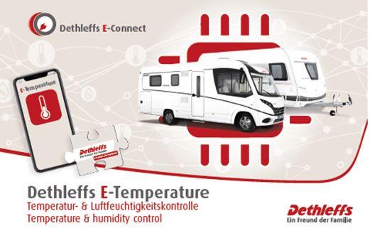 E-Temperature - Temperatur- und Luftfeuchtigkeitskontrolle