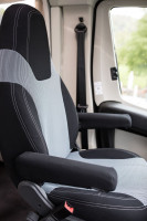 Seat cover for driver and passenger seats (Aguti GIS-Liner)