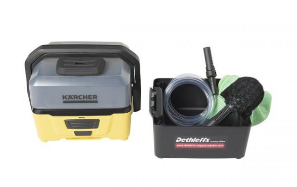 """Kärcher nettoyeur basse pression OC 3 Incluant la boite d'accessoires dans l'édition exclusive """"Edition Dethleffs Camping"""""""