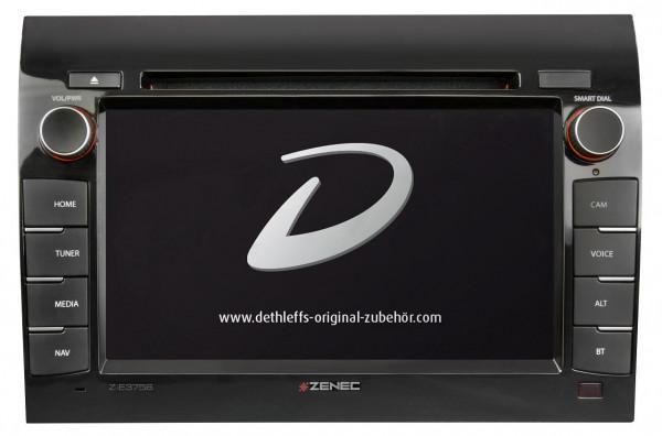 Dethleffs Naviceiver ZENEC Z-E3756EHG inkl. Navigationskarte, Bootlogo und FreeOnTour-Anbindung