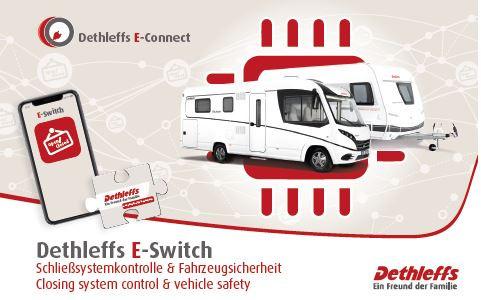 E-Switch - Contrôle du système de verrouillage
