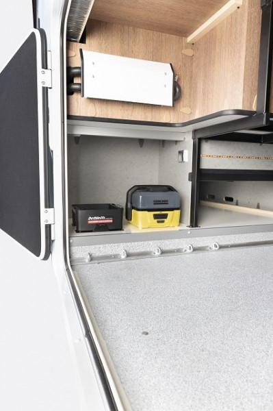 """Kärcher Druckreiniger OC 3 inkl. Zubehörbox """"Dethleffs Camping Edition"""" und Halterung fürs Fahrzeug"""