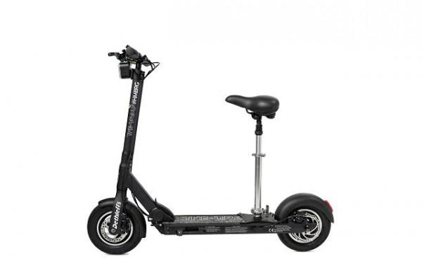 Sitz mit Stange für E-Scooter